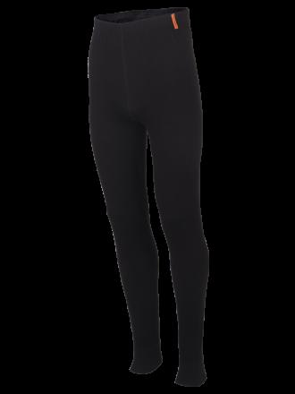 comazo|protect Funktionswäsche, Hose lang in schwarz- Vorderansicht