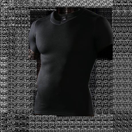 Hochleistungs-Funktionsshirt schwarz